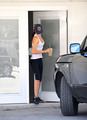 Miranda Kerr leaves the Gym in Hollywood, Jul 2