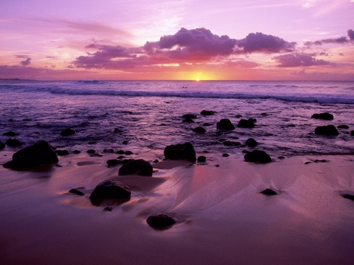 Molokai Shore - hawaii Wallpaper