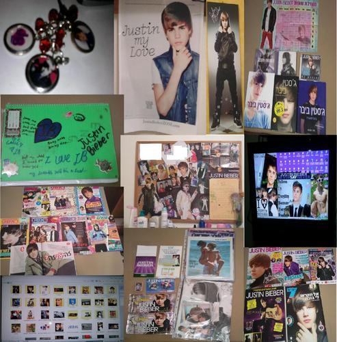 My Justin Bieber Things...♥