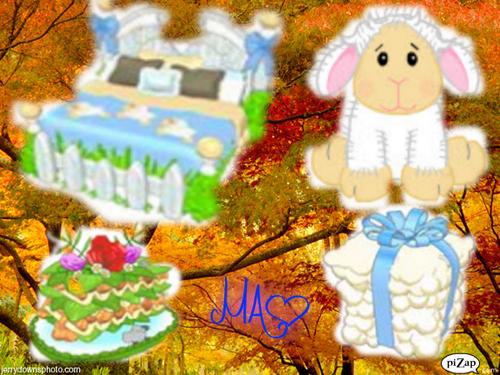 My Webkinz LIl`kinz मेमना, भेड़ का बच्चा
