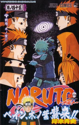 Naruto and Pain