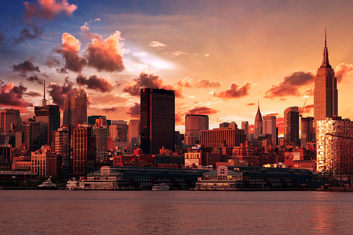 New York wallpaper containing a business district, a skyscraper, and a refinery called New York | ♥