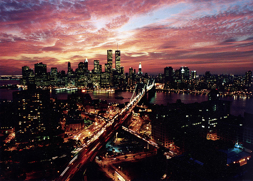 New York wolpeyper with a business district and a pagdalisayan ng petrolyo entitled New York | ♥