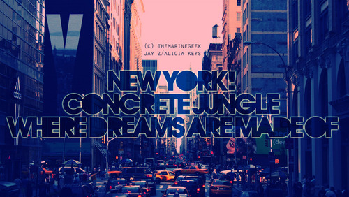 New York wallpaper probably with a street and a business district called New York | ♥