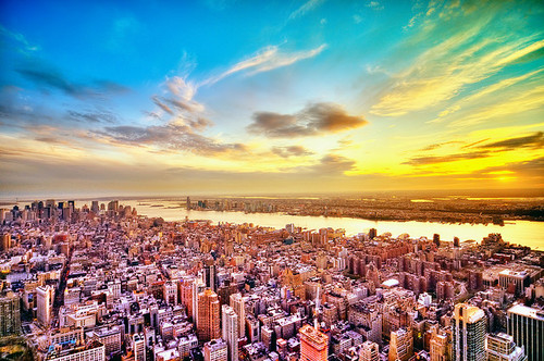 New York wallpaper probably with a business district titled New York | ♥