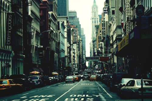 New York Обои containing a street, a business district, and a cab titled New York | ♥