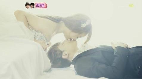 NichKhun & Victoria baciare on WGM