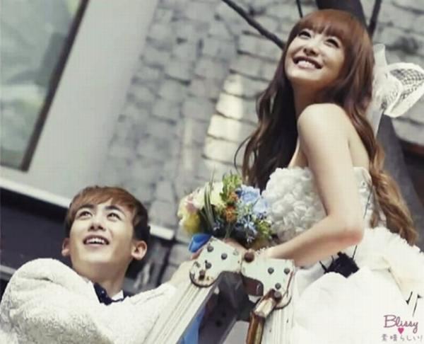 Nichkhun & Victoria - Wedding Picture - We got married