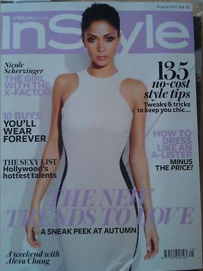 Nicole Scherzinger for InStyle UK August 2011