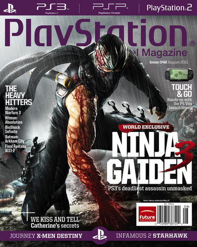 Ninja Gaiden 3 in PS magazine