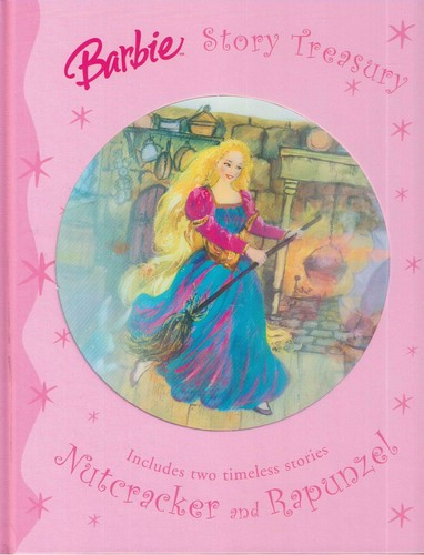 Notice how BAD Rapunzel is in the book!
