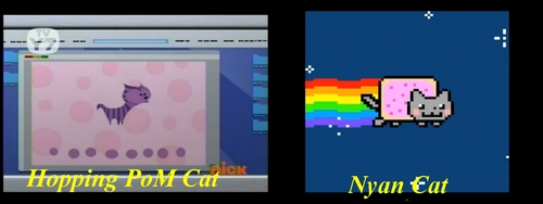 Nyan Cat in the PoM World