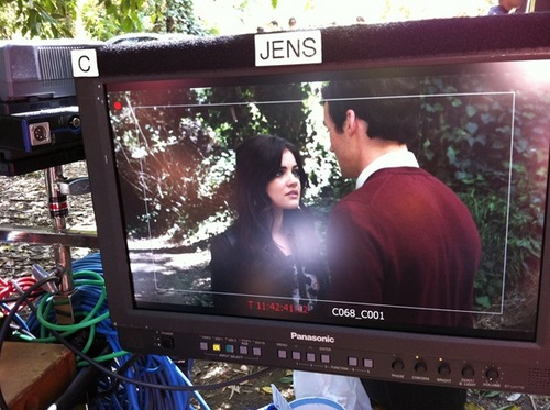 On Set of season 2