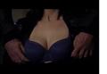 Paget Brewster-luaren-blue bra