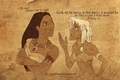 Pocahontas and Kida - classic-disney fan art
