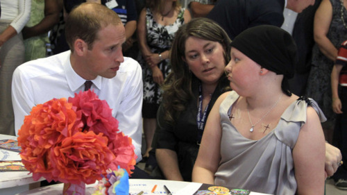 Prince William & Catherine visiting a hospital in Canada
