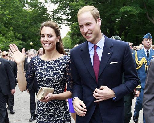 Prince William & Kate visit Canada