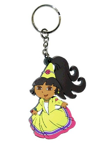 Dora the Explorer wallpaper possibly with a bling entitled Princess Dora Keychain