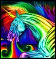 Rainbow unicorn puke