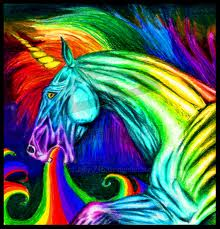 arc en ciel unicorn puke