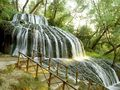 Rolling Waterfall - Monasterio de Piedra  - spain wallpaper