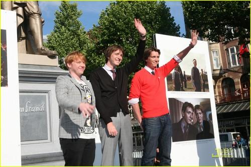 Rupert Grint: Harry Potter in Holland