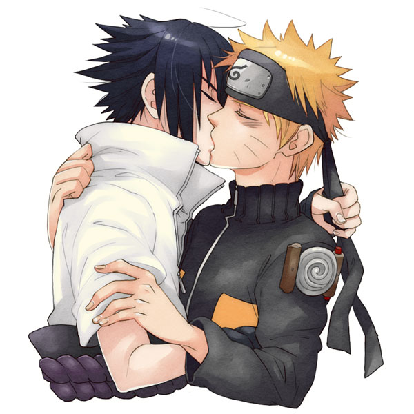 Yaoi Sasuke and Naruto