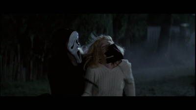 Drew Barrymore پیپر وال possibly with a فاؤنٹین, چشمہ and a sign titled Scream (1996)