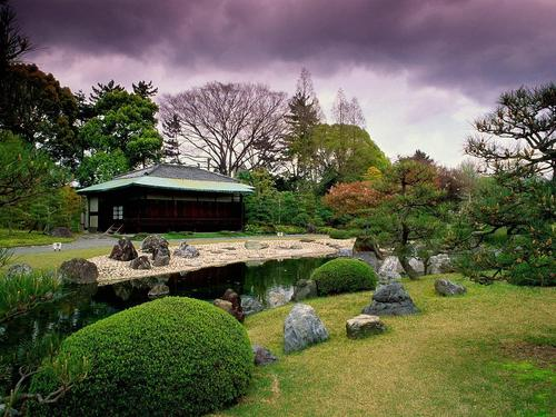 Seiryuen Garden - Nijo Castle - japan Wallpaper
