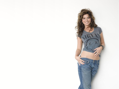 Shania Twain achtergrond possibly with a jean, bellbottom trousers, and levi s called Shania Twain