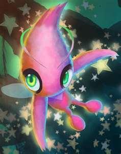 Shiny Celebi!