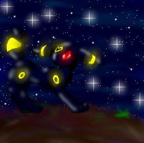 Skitty and Umbreon