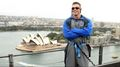 "Superstars climb the Sydney Harbour Bridge, presented by ""WWE All Stars"""