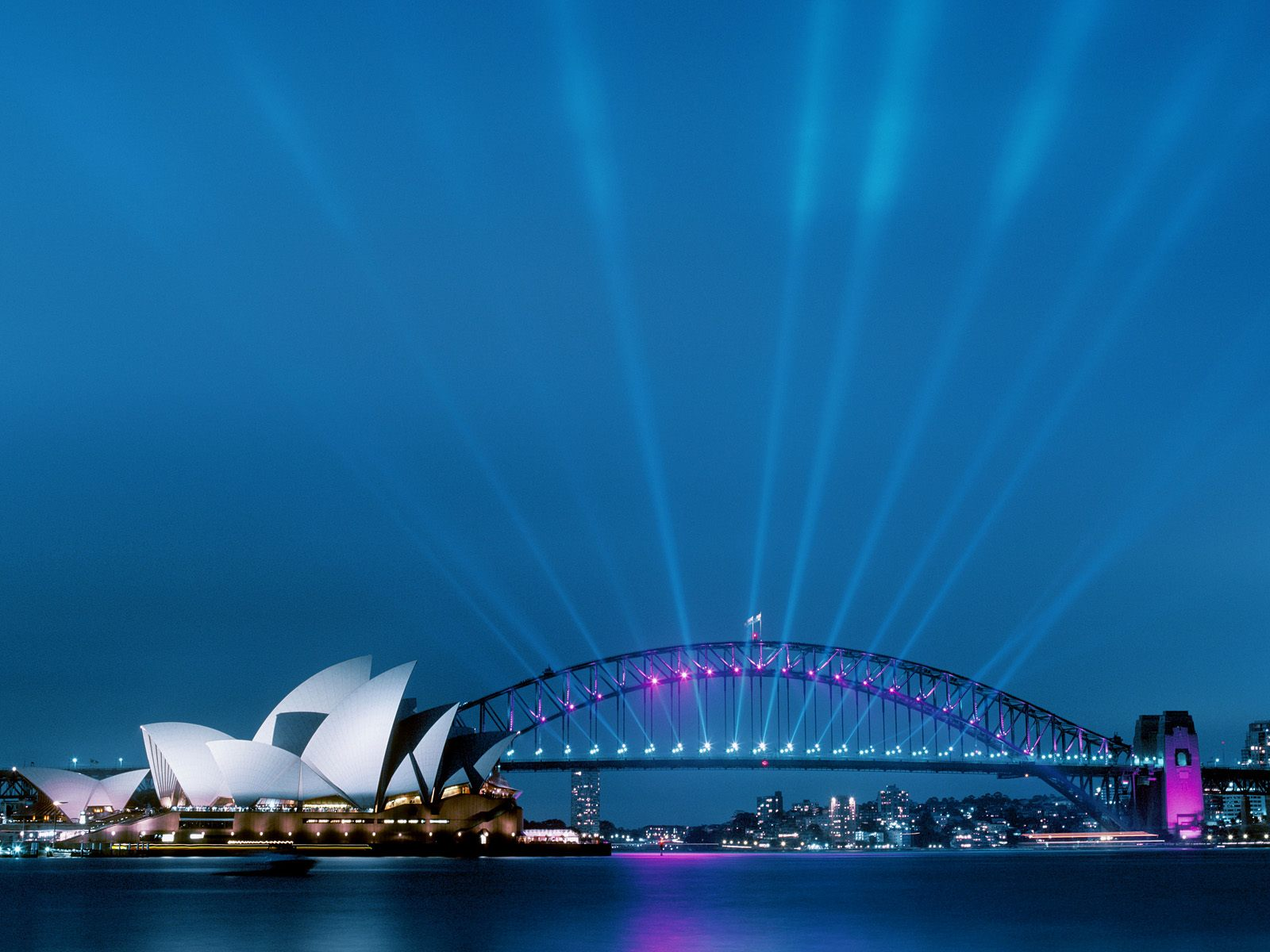 Sydney opera house and harbour bridge australia for Sydney opera housse