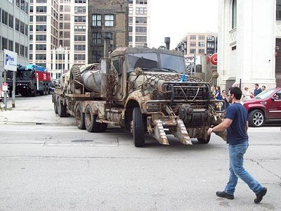 TF3 Megatron  a pic i took from Being on set