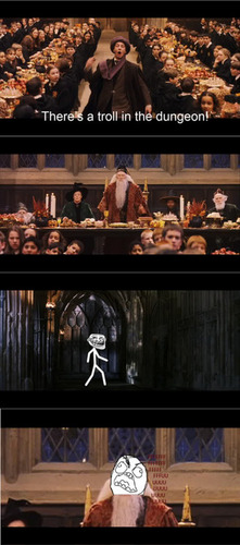 TROLL IN THE DUNGEONS!