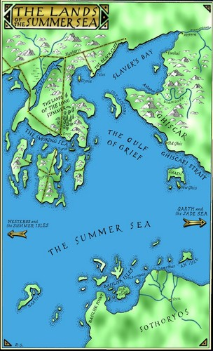 The Lands of The Summer Sea