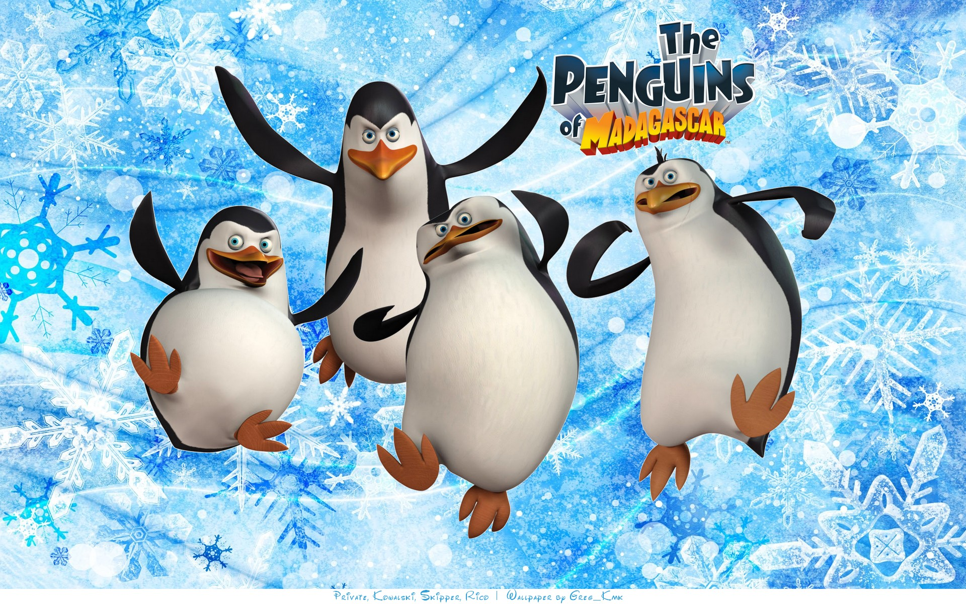 The Penguins Of Madagascar پیپر وال