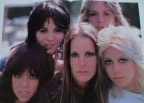 The Runaways photo in Cherie's Book Neon Angel