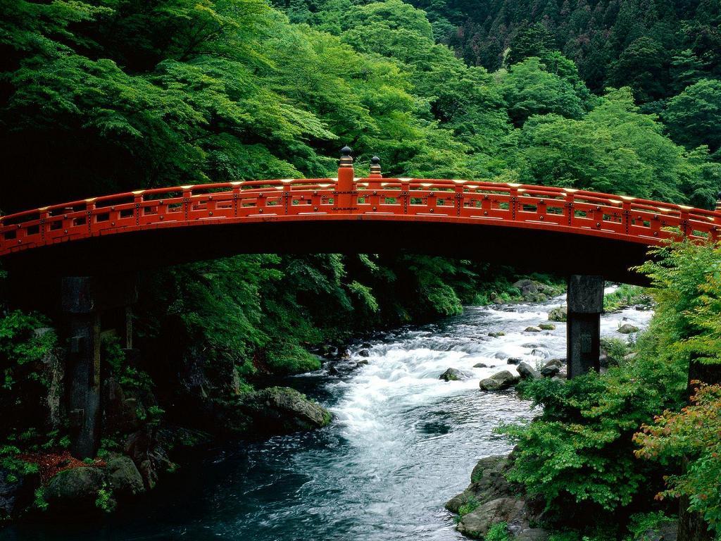 The Sacred Bridge - Daiya River