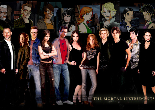 The mortal Instruments Cast by blueshour