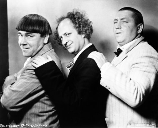 THREE STOOGES - THREE STOOGES Photo (23376066) - Fanpop