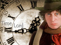 Time Lord - the-fourth-doctor wallpaper