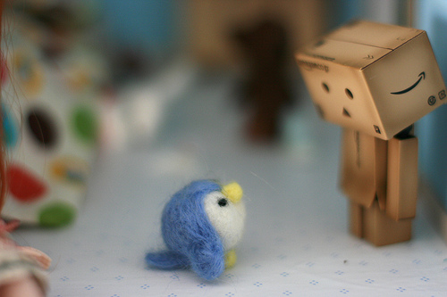 Tokidoki bird and this bila mpangilio robot