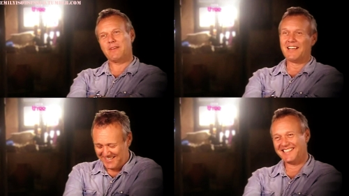 Tony in an interview