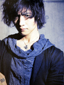 Toshiya on Rockin' On Japan Magazine - dir-en-grey photo