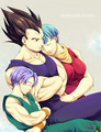 Vegeta & Bulma - dragon-ball-love fan art