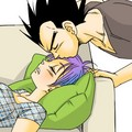 Vegeta&Bulma - dragon-ball-love fan art