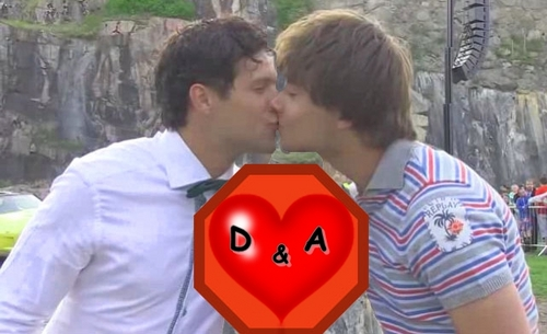 WARNING: Do NOT look at this picture if you dislike gayness!! (Didrik and Alexander) - alexander-rybak Photo