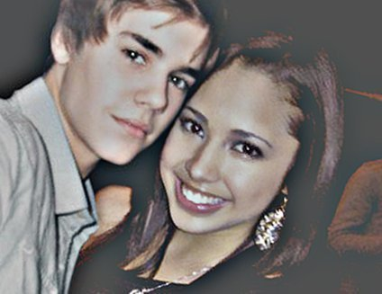 WOW -JUSTIN BIEBER AND jasmijn VILLEGAS <3